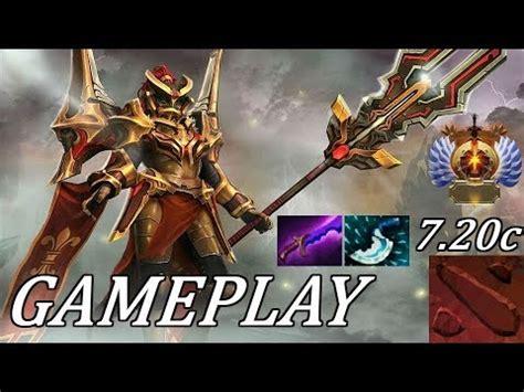 dota 2 7 20 safelane lc legion commander ranked gameplay commentary youtube