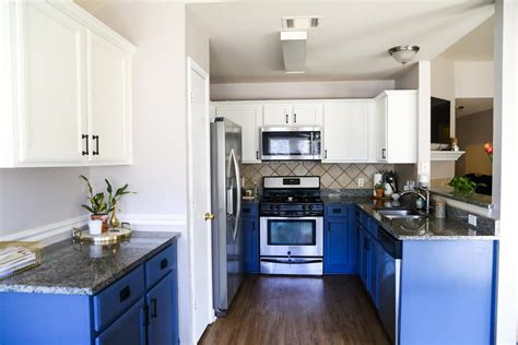 white and blue kitchen cabinets blue white kitchen cabinets renovations 1730