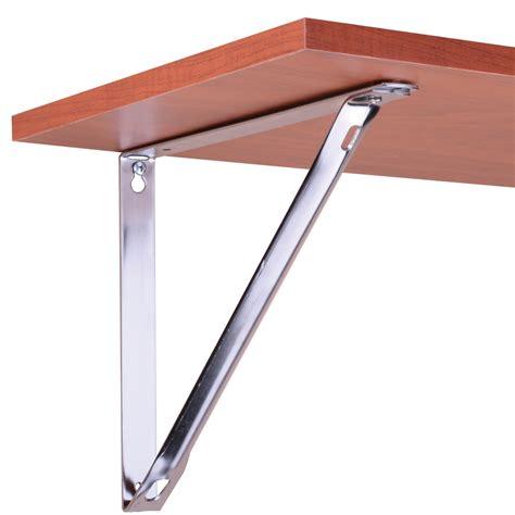 fixed hd shelf bracket 10 1 4 chrome