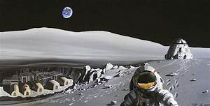 Futuristic Moon Base - Pics about space