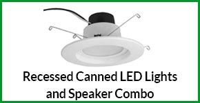 recessed light speaker recessed canned led lights and speaker combo hedgehog