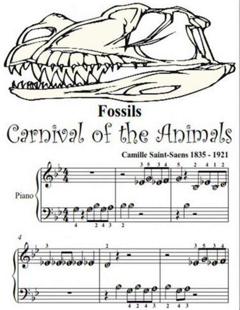 carnival of the animals aquarium piano sheet 1000 aquarium ideas