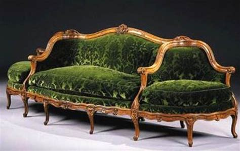 canape history antique sofa and settee styles