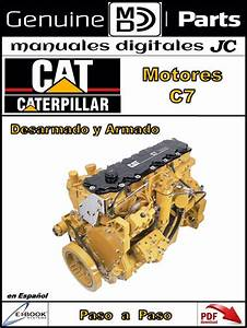 Manual Taller Motor Caterpillar C7 En Espa U00f1ol
