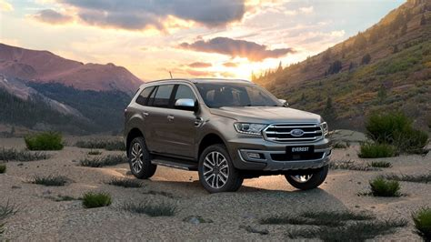 seater family suv ford everest  ford australia