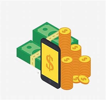 Money Cartoon Clipart Transparent Tips Clip Psd