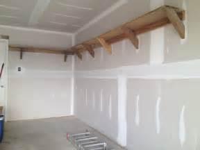 diy building garage shelves the better garages