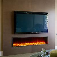 built in electric fireplace Dynasty 63-In Built-In Electric Fireplace - DY-BT63