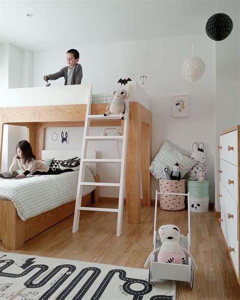 2 Amazing Scandinavian Style Kids Rooms   Petit & Small