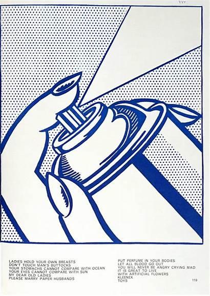 Roy Lichtenstein Spray Still Prints Paper 1stdibs