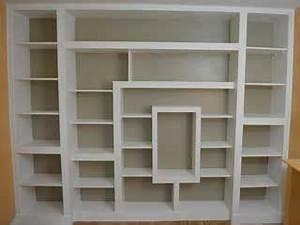 Fabriquer Une étagère Murale Originale : tutorial pour fabriquer une biblioth que en placo et bois biblioth que en 2019 fabriquer une ~ Dode.kayakingforconservation.com Idées de Décoration