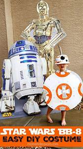 Star Wars Diy : easy diy star wars bb 8 costume halloween costumes pinterest war stars and star wars ~ Orissabook.com Haus und Dekorationen