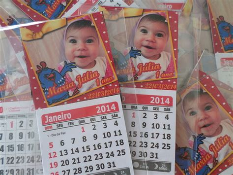 calendario galinha pintadinha no Elo7 My Blessing