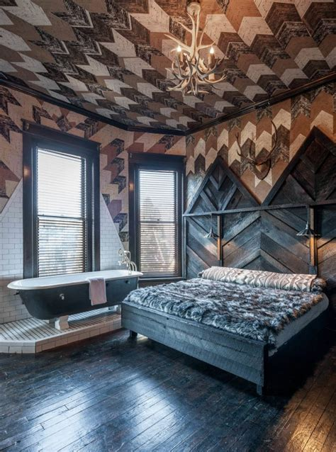 wicked rustic bedroom designs