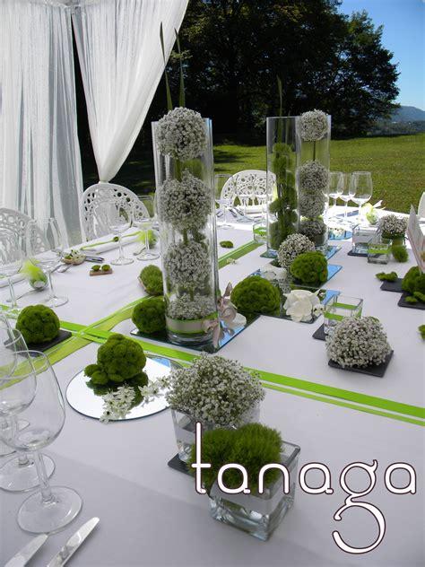 decoration de table composition florale mariages
