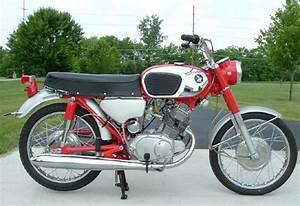 Honda Cb125 Cb160 1964