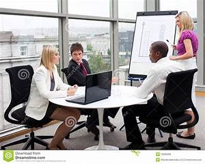Business People Working Together In An Office Royalty Free ...