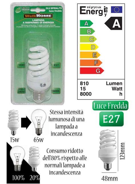 Lade A Risparmio Energetico Luce Fredda by Misure Lunghezza X Diametro 123x 48mm