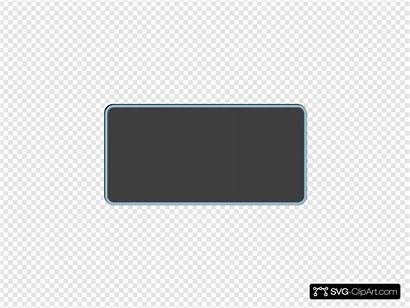 Svg Button Rectangle Gray Clipart