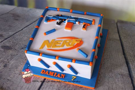 nerf birthday cake s for home baked cakes and cupcakes yes i m