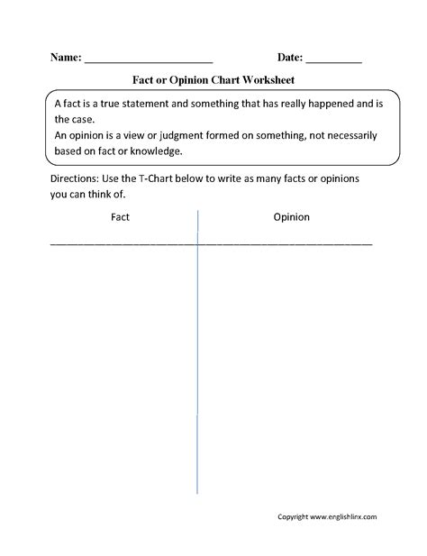 fact and opinion worksheets for 3rd graders veterans day
