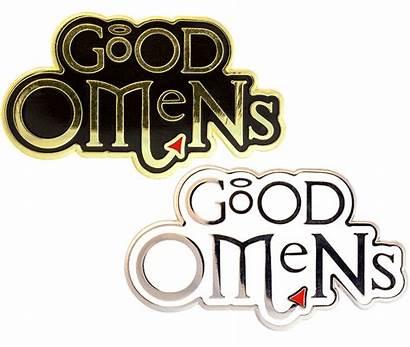Omens Badge Discworld Both