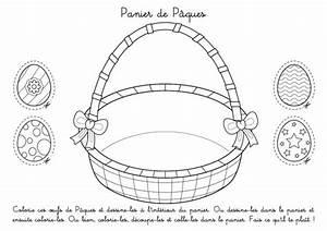 Panier Oeufs De Paques : coloriage imprimer panier de p ques d corer et remplir ~ Melissatoandfro.com Idées de Décoration