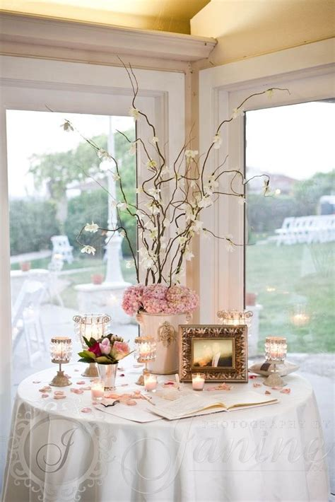 I like when trees are inside Wedding guest table