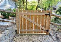 how to build a wooden gate Learn how to build a gate for your wood fence regardless of the size or fence type. If you know ...
