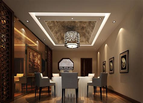 contemporary dining room ceiling lights modern dining room with wrapped ceiling design image