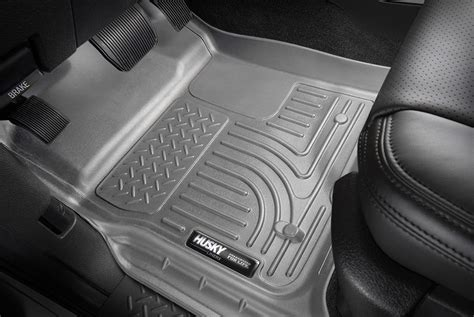 Husky Weatherbeater Floor Liners by 2012 2016 F250 Duty Husky Liners Weatherbeater Front