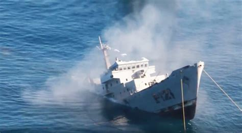 Sinking Big Boats by Baja California Sinks Mexican Navy Ship For State S