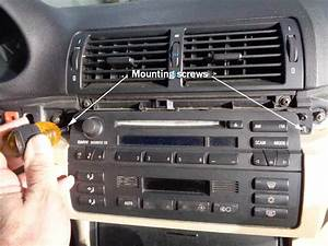 2006 Bmw X5 Radio Removal