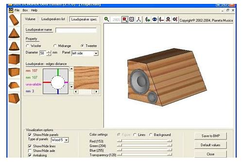 speaker box design software free download