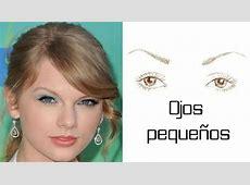 Diferentes formas de ojos MODA LISTA