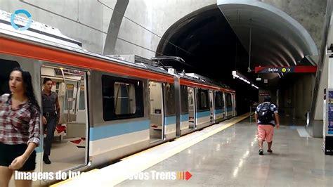 imagens  interior dos novos trens de metro youtube