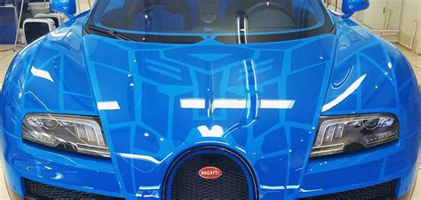 transformers bugatti veyron autobot edition