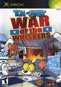 Tom Jerry In War Of The Whiskers Box Shot For Xbox
