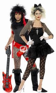 Hollywood Kostüme Ideen : rocker paar aus den 80ern kost m f r zwei erwachsene schwarz g nstige faschings kost me bei ~ Frokenaadalensverden.com Haus und Dekorationen