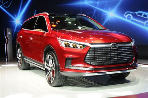 Byd Unveils Electric Dynasty Suv Concept, New Design Direction