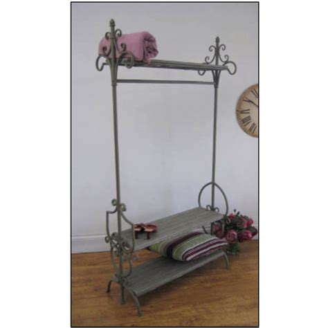 shabby chic hanging rail more shabby chic clothing rails wwwshabbycottageboutique