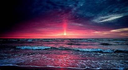 Sunset Beach Desktop Florida Background Wallpapers Nc