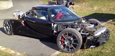 Lotus Exige with BMW M5 V10 Engine Swap Is like a German