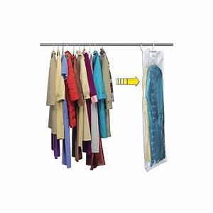 Housse Vetement Sous Vide : housse de v tement sous vide cintre 70 x 145 cm pratique ~ Melissatoandfro.com Idées de Décoration