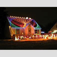edge of the plank christmas lights