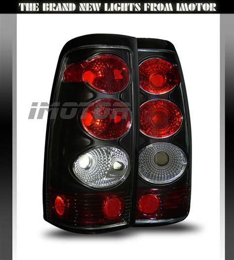 2005 silverado tail lights 2003 2004 2005 2006 chevy silverado 1500 2500 3500 black