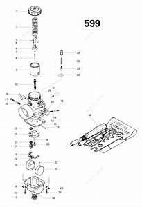 Ski Doo 1996 Formula - Iii  Carburetor Form Iii  Iii Lt