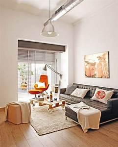 photos d39un petit appartement avec une deco industrielle a With decoration petit appartement moderne