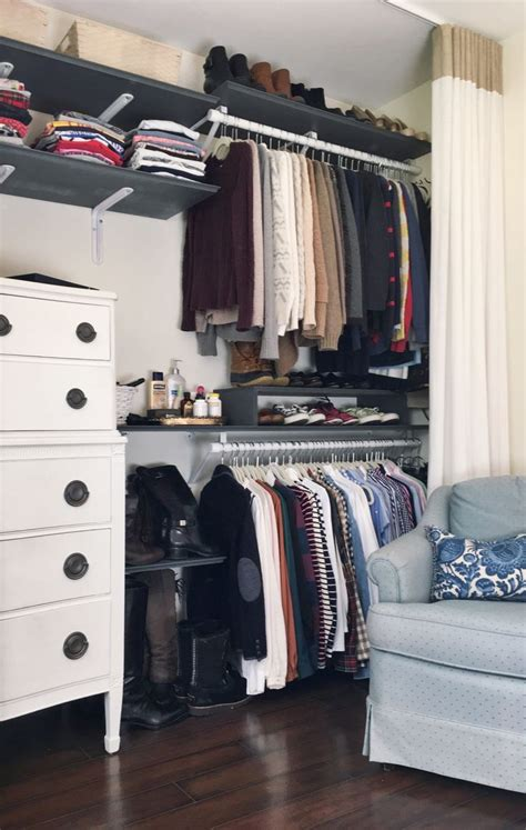 Finds Living In Closet by 17 Best Ideas About Studio Apartment Organization On