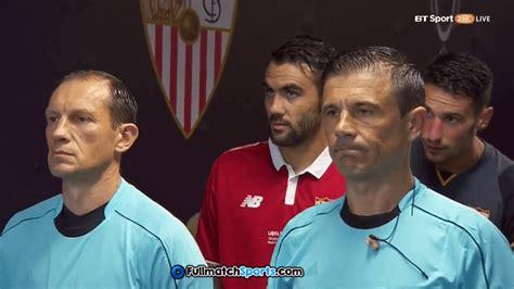 Full Match Real Madrid vs Sevilla Super Cup 2016 ...